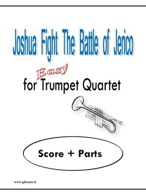 cover image of Joshua Fight the Battle of Jerico
