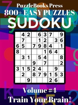 cover image of PuzzleBooks Press Sudoku--Volume 4