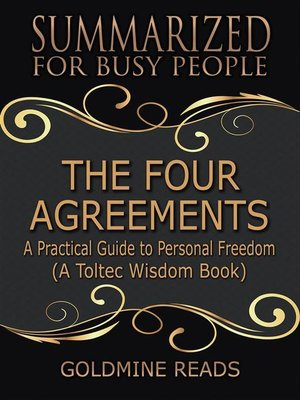 cover image of The Four Agreements--Summarized for Busy People