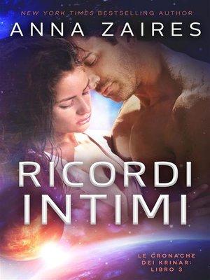 cover image of Ricordi Intimi