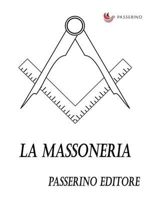 cover image of La massoneria