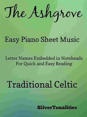 cover image of The Ashgrove Easy Piano Sheet Music