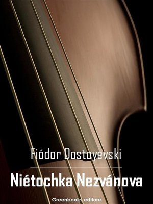 cover image of Niétochka Nezvánova