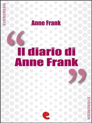 cover image of Il Diario di Anne Frank