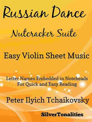 cover image of Russian Dance Nutcracker Suite Easy Violin Sheet Music