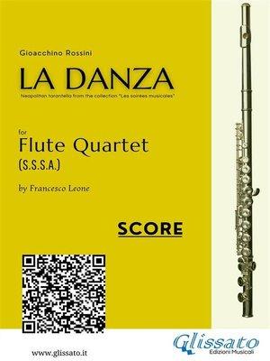 cover image of La Danza (tarantella)--Flute Quartet score & parts