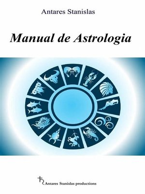 cover image of Manual De Astrologia