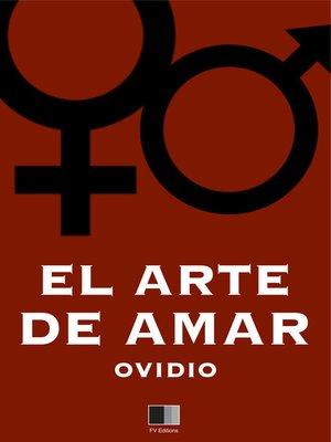 cover image of El Arte de amar
