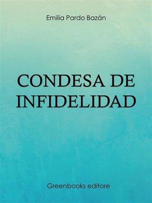 cover image of Condesa de Infidelidad