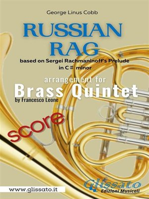 cover image of Russian Rag--Brass Quintet (score)