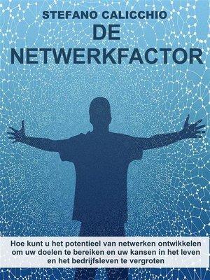 cover image of De netwerkfactor