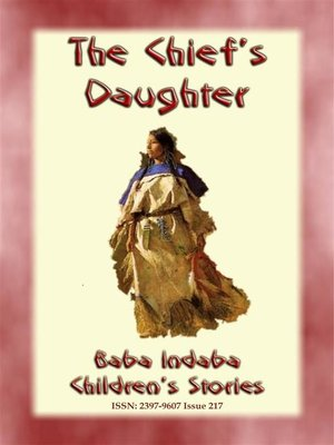 cover image of THE CHIEF'S DAUGHTER--A Native American Story