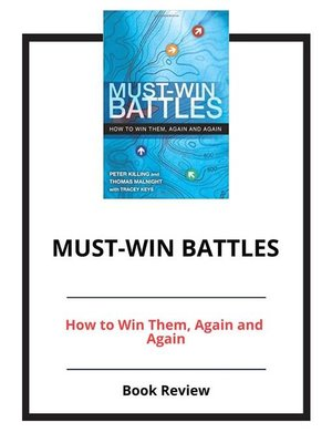 cover image of Must-Win Battles