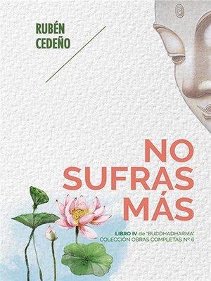 cover image of No Sufras Más