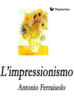 cover image of L'Impressionismo