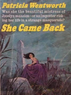 cover image of She Came Back
