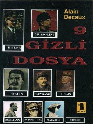 cover image of 9 Gizli Dosya
