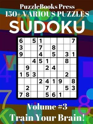 cover image of PuzzleBooks Press Sudoku--Volume 3