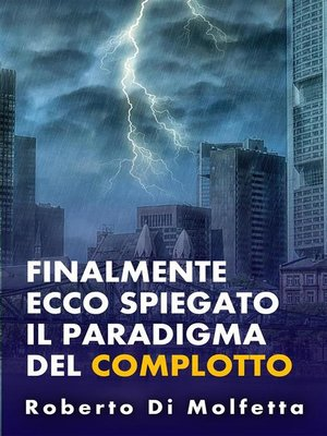 cover image of Il Paradigma del Complotto
