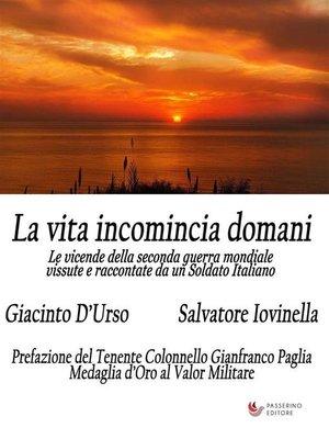 cover image of La vita incomincia domani