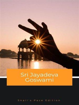 cover image of Sri Jayadeva Goswami