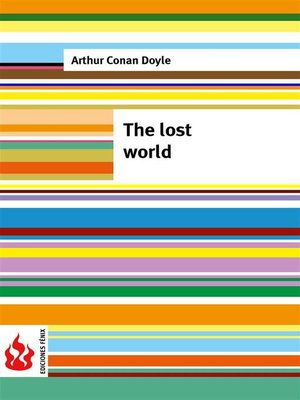 cover image of The lost world (low cost). Limited edition