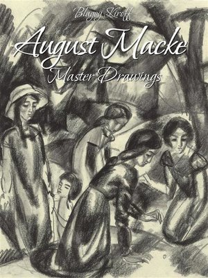 cover image of August Macke -Master Drawings