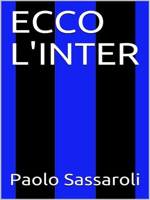 cover image of Ecco l'Inter
