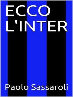 cover image of Ecco l'Inter