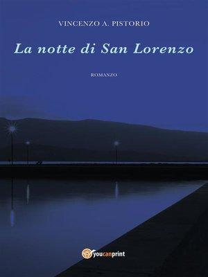 cover image of La notte di San Lorenzo