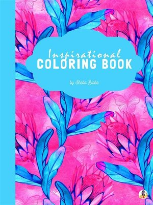 cover image of Inspirational Coloring Book for Teens (Printable Version)
