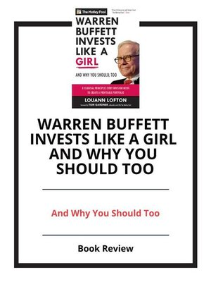 cover image of Warren Buffett Invests like a Girl and Why You Should Too