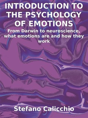cover image of Introduction to the psychology of emotions