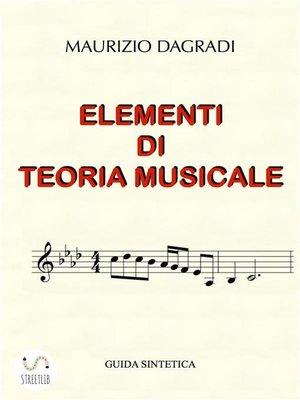 cover image of Elementi di Teoria Musicale