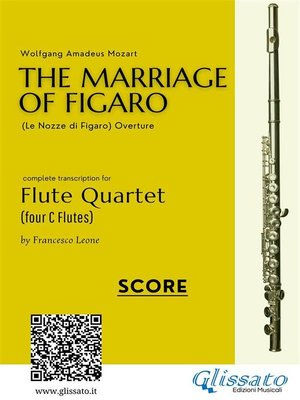 cover image of The Marriage of Figaro--Flute Quartet (Score)