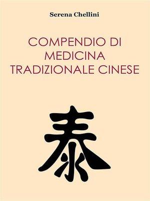 cover image of Compendio di medicina tradizionale cinese