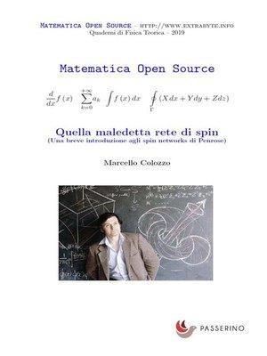 cover image of Quella maledetta rete di spin