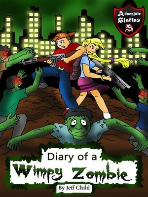 cover image of Diary of a Wimpy Zombie