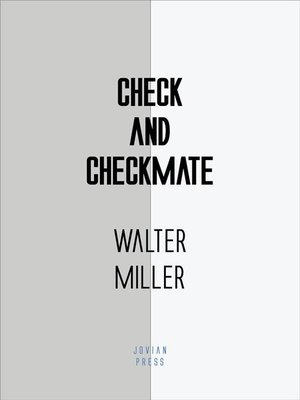 cover image of Check and Checkmate