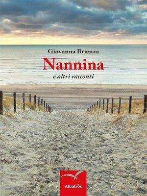 cover image of Nannina e altri racconti