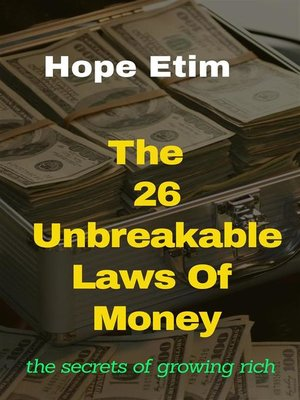 cover image of The 26 Unbreakable Laws of Money