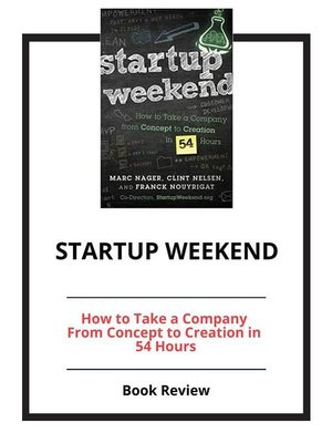 cover image of Startup Weekend