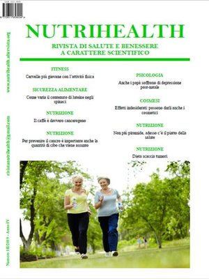 cover image of NutriHealth--Marzo 2019