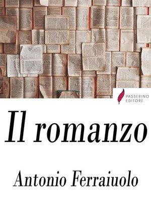 cover image of Il romanzo