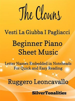 cover image of The Clowns Beginner Piano Sheet Music