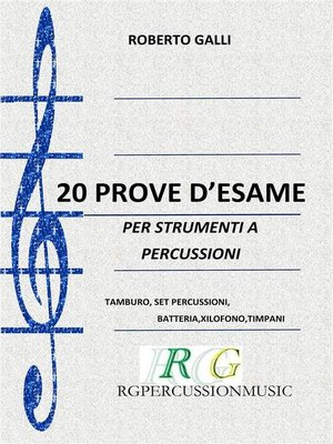 cover image of 20 Prove d'esame
