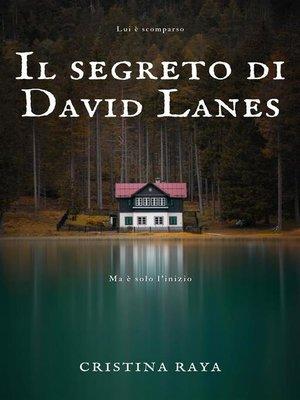 cover image of Il segreto di David Lanes