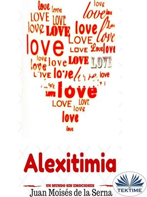 cover image of Alexitimia