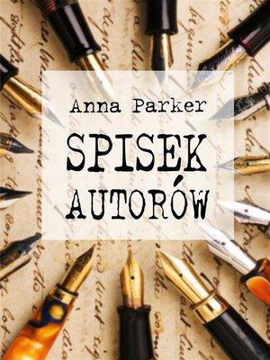 cover image of Spisek autorów