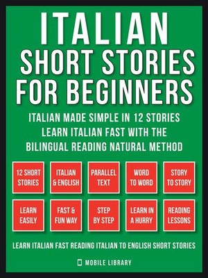 cover image of Italian Short Stories For Beginners (Vol 1)
